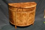 Burr oak furniture
